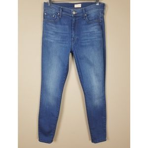 Mother | High Waisted Looker Skinny Jeans